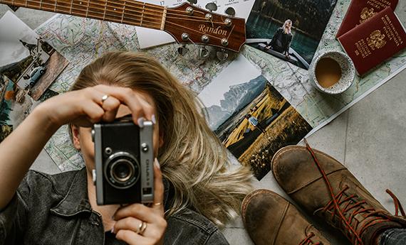 Išsaugokite kelionių prisiminimus fotoproduktuose